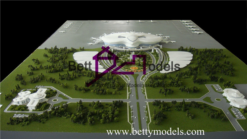 architectural airport models