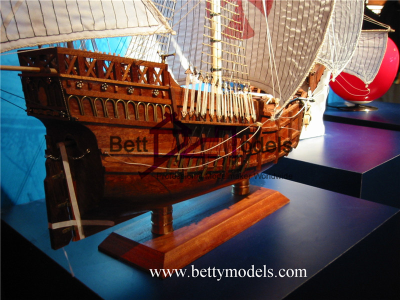 Spain classical vessel models