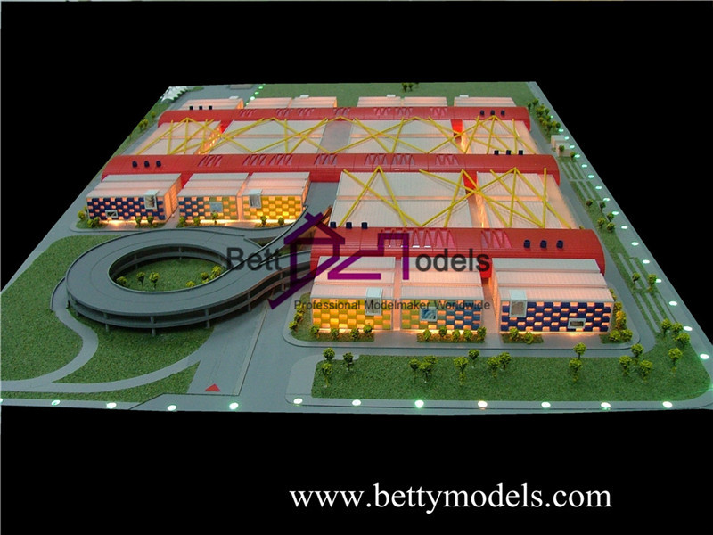 factory architectural models