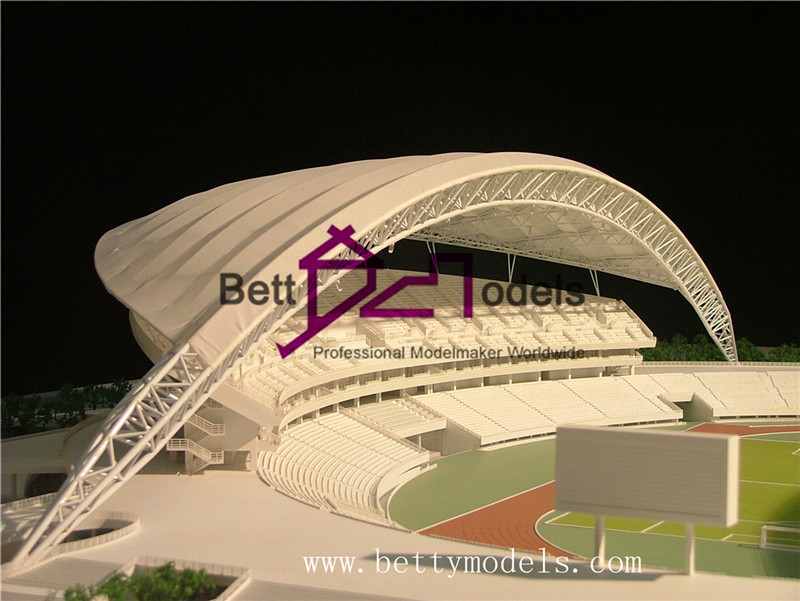 stadium modelmaking