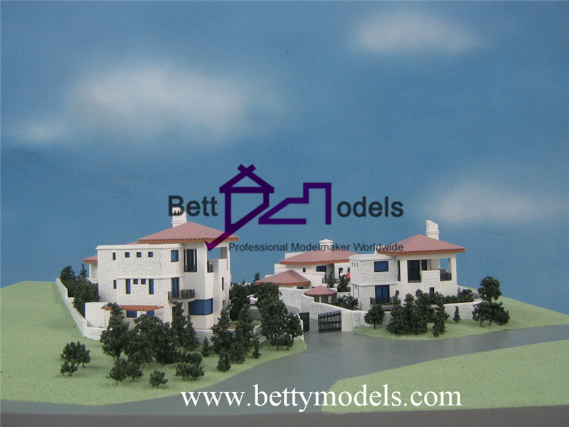 Cyprus real estate villa models