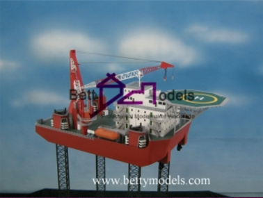 Drilling Platform Industrial Models