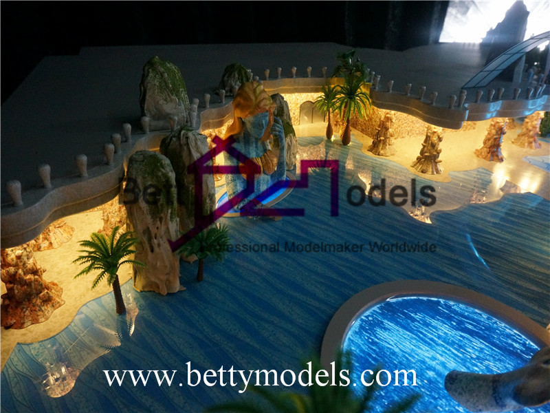 ocean world scale models