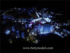 3D Saudi Arabia illuminated models