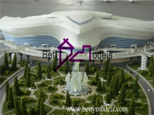 Dubai airport models