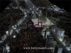 3D Makkah illuminated models
