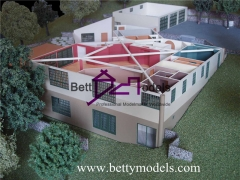 3D India bungalow models