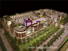3D Malaysia shopping center models