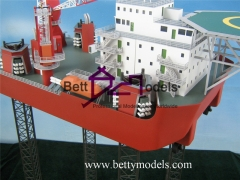 3D Drilling platform industrial models