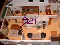 villa internal model making