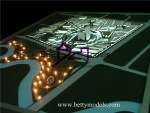 Bahrain city planning models