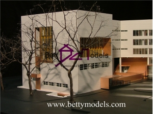 Qatar wood architectural scale models